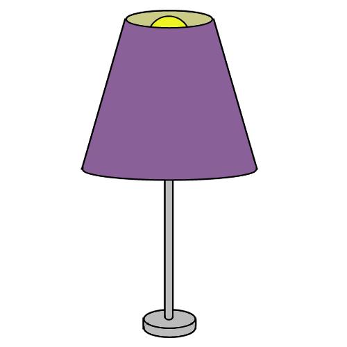 Stehlampe clipart  Berliner Umzüge | Umzugsgutliste